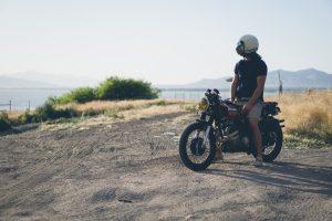 rester zen en moto